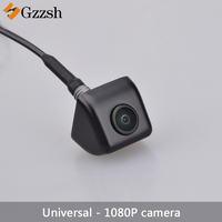 HD 1080P night vision rear view reversing camera wide angle Universal reversing auxiliary camera metal body function adjustable