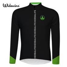 herbalife brand cycling widewins women black cycling jersey long sleeve Bike Clothes cycling Wear Racing Bicycle Clothes 6512 цена
