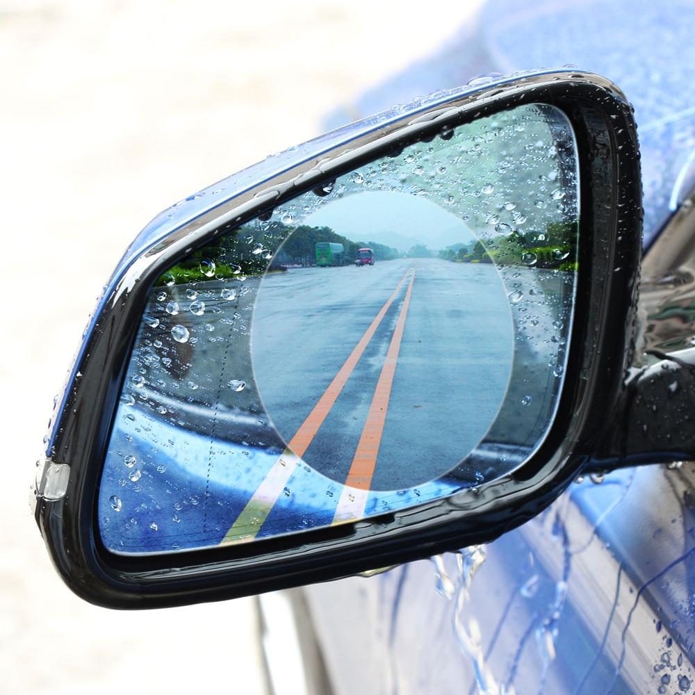 2PCS Car Rearview Mirror Protective Film Anti Fog Window Foils Rainproof