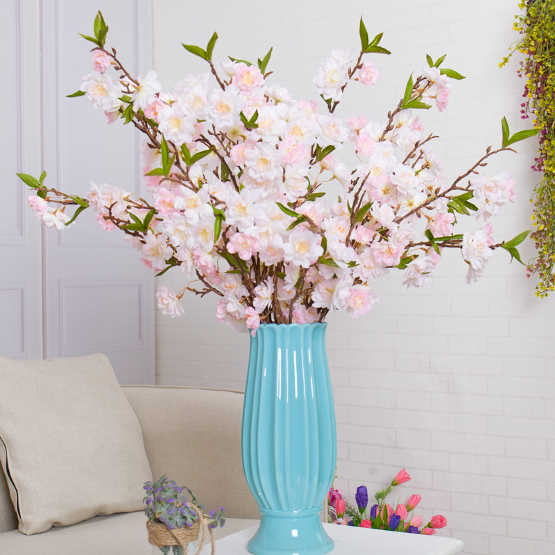 japanese sakura artificial flowers fake cherry blossoms wishing tree