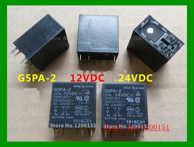 12VDC Relay 1PC G8NB-2S OMRON Brand New