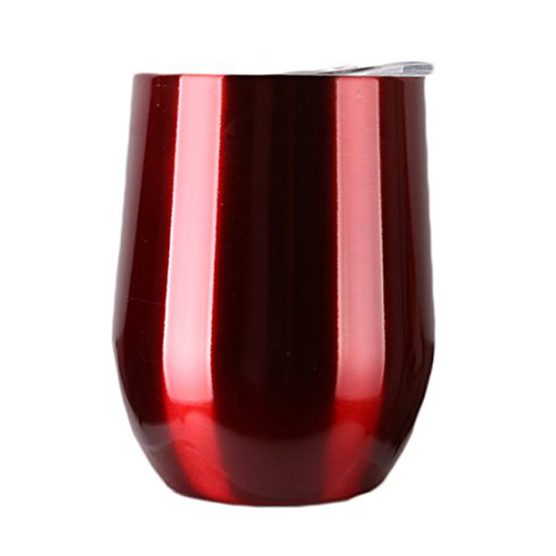 2017 New Style 304 Stainless Steel 9 Oz. Coral Wine <font><b>Cup</b></font> with Lid No Sweat Cold 24 Hours <font><b>take</b></font> 19 colors