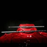 Титан металл флейта Сяо G/F ключ Китайская Вертикальная бамбуковая флейта Профессиональный металл Flauta Сяо оружие самообороны подарок