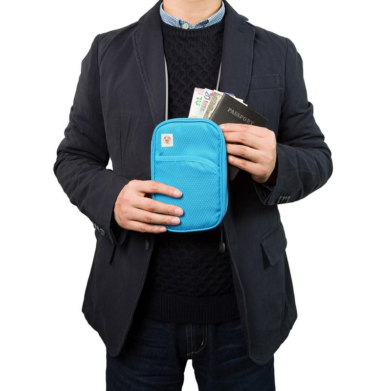 Nya Passport Plånböcker Högkvalitets Passporthållare Bekvämt - Resetillbehör - Foto 4