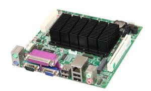 Image 2 - Placa base sin ventilador para Intel Atom D2550 CPU, placa base integrada IPC SBC, Cedarview con 2 * COM LAN LPT LVDS