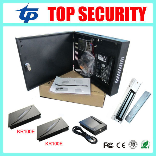 Good quality TCP/IP smart card RFID card access control system C3-100 door access control panel good quality tcp ip 30000 users rfid id card time attendance and access control sc103 smart 125khz rfid card access controller