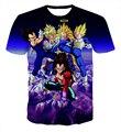 Hipster 3D t shirt Anime Dragon Ball Z T-shirts Funny Team Vegeta Goku t shirts Men Women Casual tee shirts Galaxy tees tops