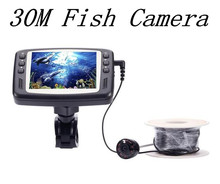 30M Underwater Fishing Camera 8 IR LED CCTV camera With 3.5inch Color Monitor Fish Finder Night Vision
