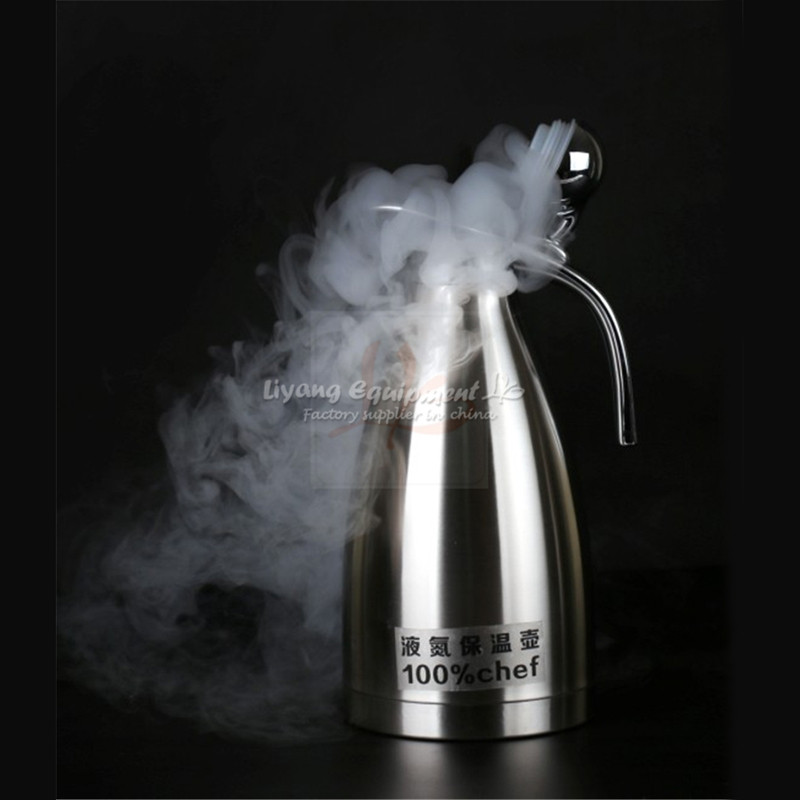 Tools : 2L liquid nitrogen kettle cold resistant for minus 196 degree for repairing mobile phone