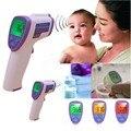 Temperatura de la frente Sin contacto termómetro Infrarrojo Del Cuerpo médico clínica infantil para bebés niños fiebre digital infantil termómetro
