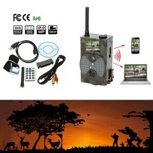 940NM Scouting HD Hunting Camera MMS GPRS Digital Infrared Trail Camera GSM Outdoor Caza IR LED Wireless Remote Control