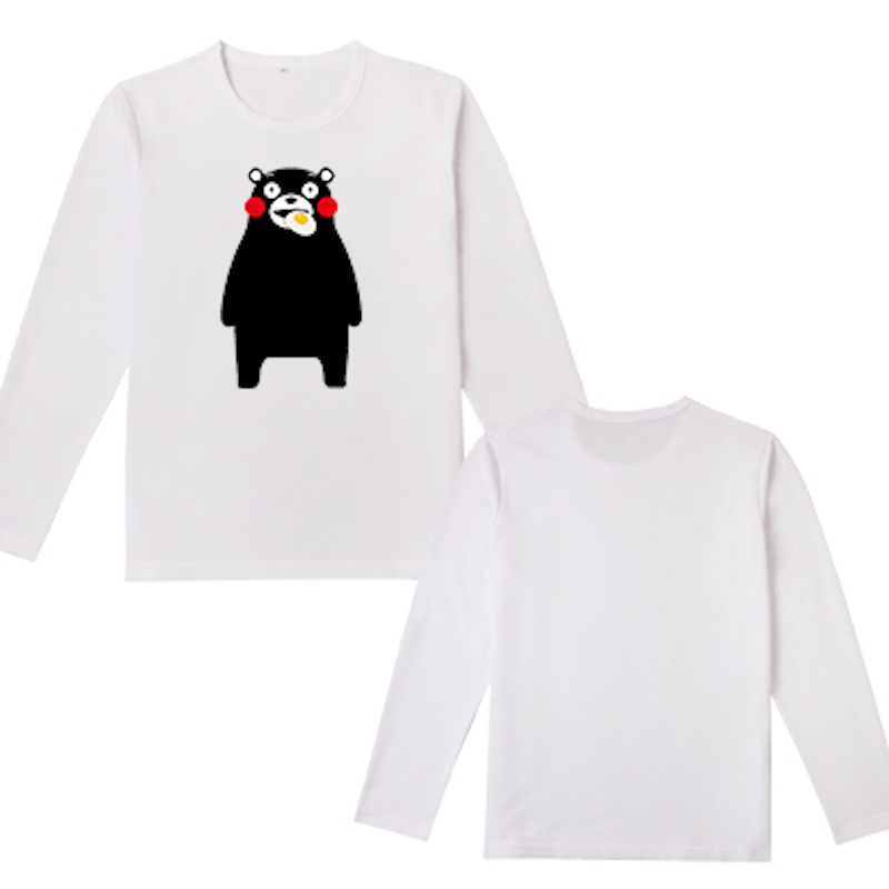 Cute Unicorn 15 styles Kumamon Bear long sleeve t shirt men's tshirt kawaii boys clothes cotton casual t-shirt tops tees