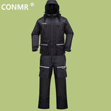 CONMR 2017 Men Winter Sea Fishing Clothes Suit Windproof Waterproof Thermal Angling Clothing man Outdoor Hiking Camping wear