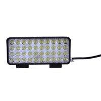 2pcs SUV Lichtbalk LED Spotlight 120W 40X3 W IP65 Flood Spot Lamp Voor Varen jacht Truck Outdoor Verlichting