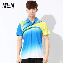 New badminton sportswear sports clothes summer tennis shirt men's Short Sleeve Shirt sports T-shirt free shipping