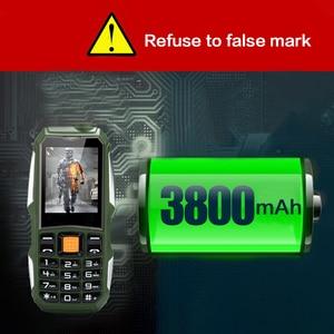 Image 5 - بطارية كبيرة زينو J1 3800mAh هاتف بشريحتين GSM هاتف خلوي مضاد للصدمات مكبر صوت كبير بكشافة هاتف محمول كبار السن هاتف روسي SOS