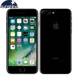 Desbloqueado original apple iphone 7/iphone 7 plus quad-core celular 12.0mp câmera 32g/128g/256g rom ios impressão digital telefone