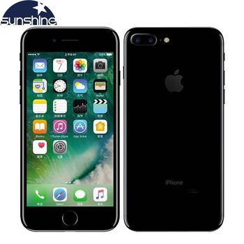 Unlocked Original Apple iPhone 7 / iPhone 7 Plus Quad-core Mobile phone 12.0MP camera 32G/128G/256G Rom IOS Fingerprint phone