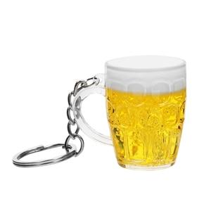 Смола пивные чашки для ключей брелок для ключей автомобиля для мужчин и женщин кулон ювелирные изделия имитация еды ручной работы авто аксессуары