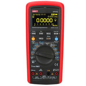 Image 2 - UNI T UT171C multimètre numérique RMS industriel/affichage OLED/entrée basse impédance LoZ/mesure de fréquence VFC/USB/Bluetooth
