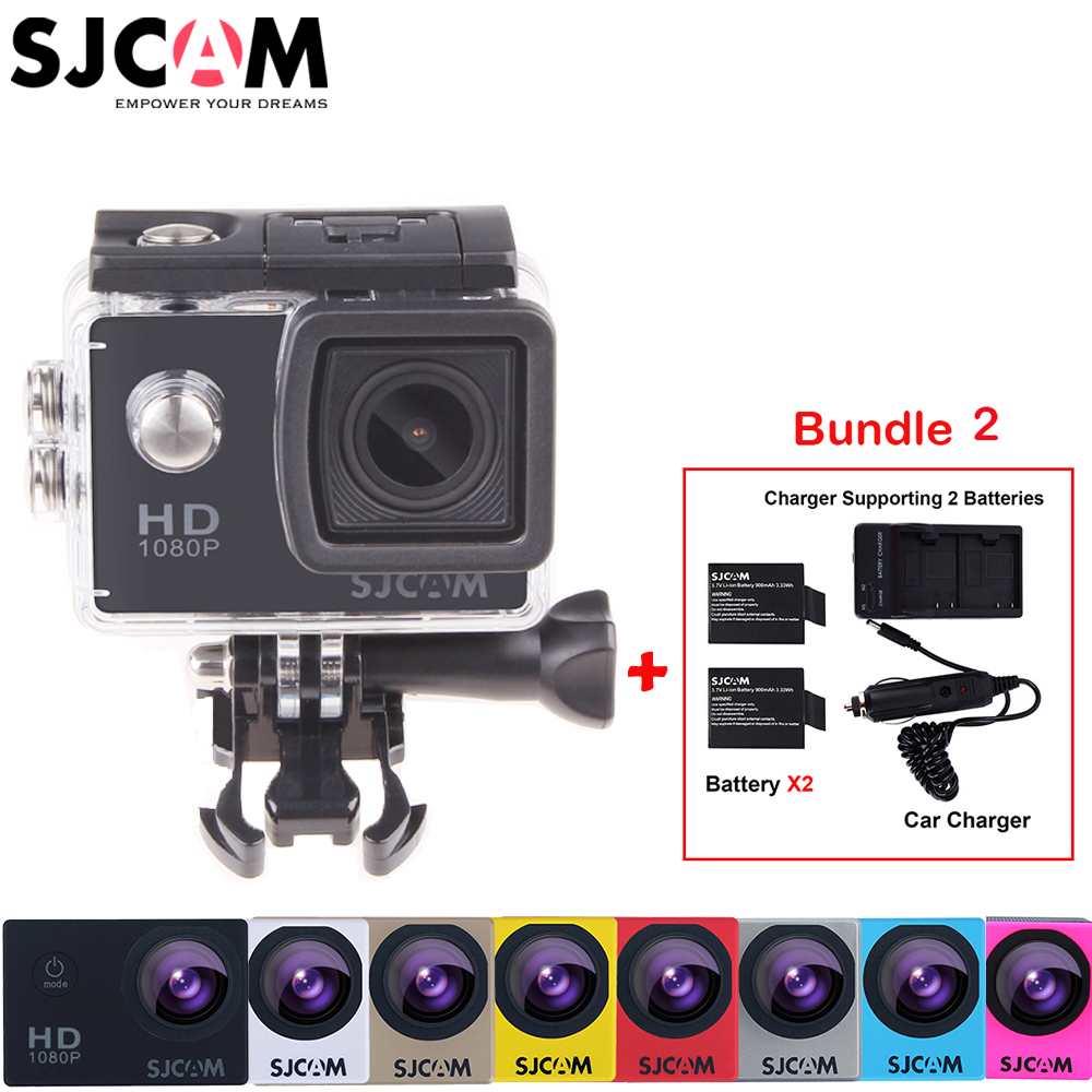 100 Original Sjcam SJ4000 30M Waterproof Mini Outdoor Sports font b Action b font Camera Sj