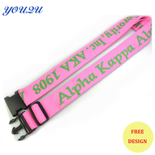 customized 5.0*180 cm polyester simple travel luggage belt luggage strap