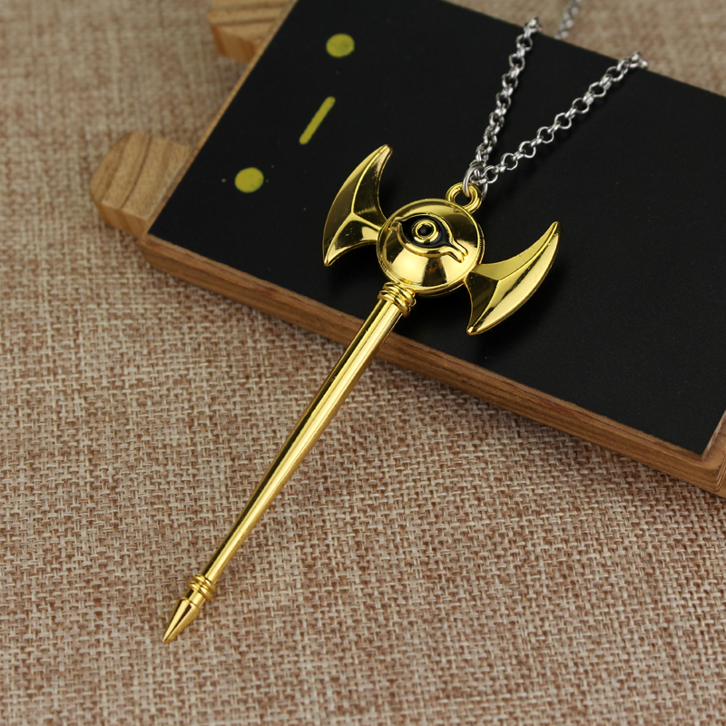 Delicate Collier Game Anime Yugioh Millenium Duel Monsters Pendant Egyptian 3D Yu-Gi-Oh Chain Necklace Jewelry For Women And Men