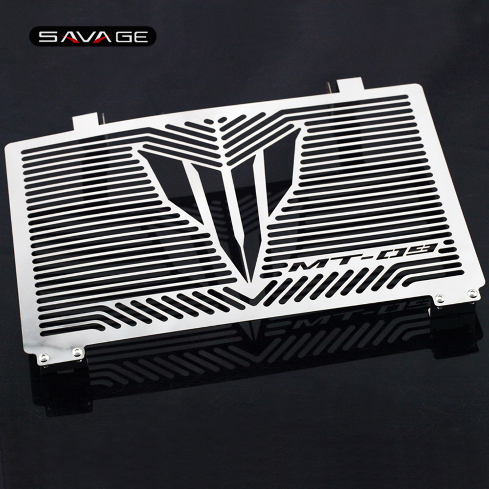 Radiator Grille Guard Cover For YAMAHA MT-09 MT09 Tracer FJ-09 FZ-09 XSR900 XSR 900 Motorcycle Accessories Protector Net arashi motorcycle radiator grille protective cover grill guard protector for 2008 2009 2010 2011 honda cbr1000rr cbr 1000 rr
