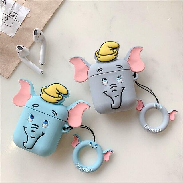 Cute Elephant AirPod Case