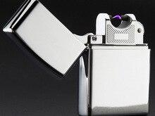 USBชาร์จFlamelessไฟฟ้าArc W Indproofไฟแช็กหลายสี