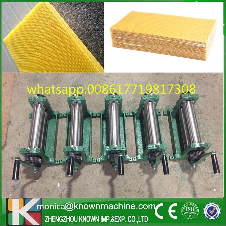 Stainless steel or galvanized iron manual beeswas flat presser machine