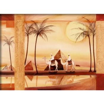 Abstract paintings African Landscapes Desert Dreams by Alfred Gockel canvas art Hand painted High quality