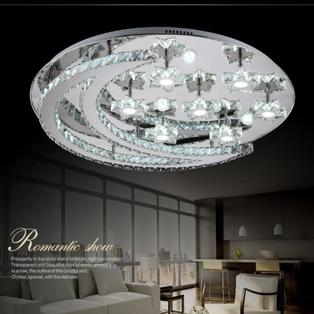 Aliexpress.com : Buy Crystal modern led ceiling lights for living ...