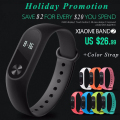 Original Xiaomi Miband 2 Activity Trackers Fitness band with OLED Screen Touch Operation Pulse Heart Rate IP67 New Bracelet
