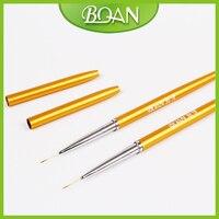 BQAN New Designs Nail Beauty Brush Nail Liner Brush With Cap Nail Art Brush Nylon 1