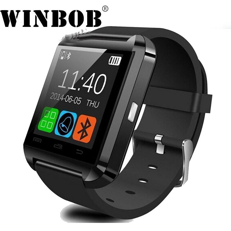 Bluetooth Smart Uhr U8 Armbanduhr für Samsung htc Huawei xiaomi lg htc meizu honor meizu one plus lg sony oppo android telefon