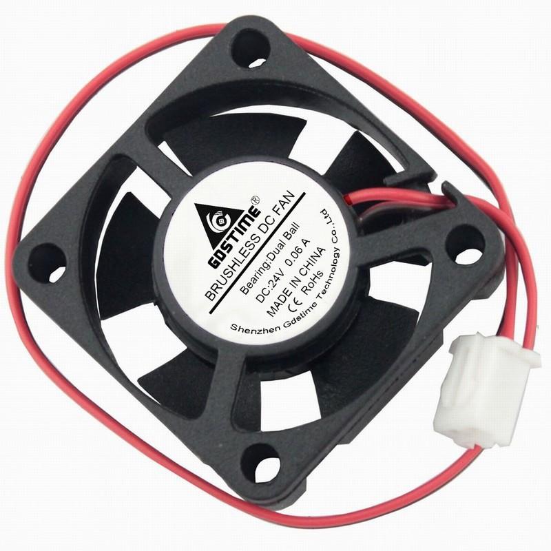 Ball Bearing 24V 30x30x10mm Brushless Cooling Cooler Fan 2pin High Quality