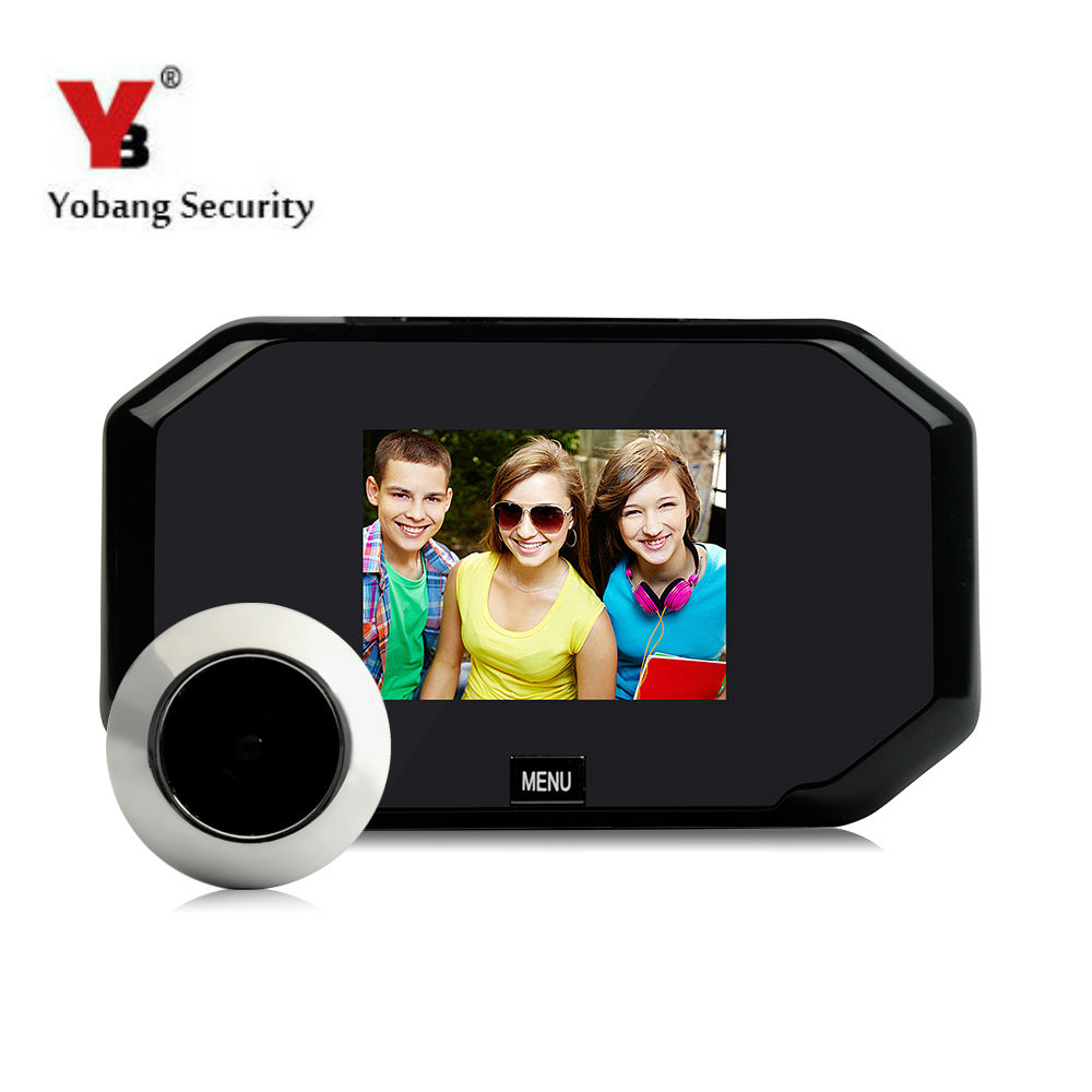 Yobang Security 3LCD Wide Angle Visual Monitor Smart Digital Camera Video Door Eye Door Peephole Viewers монитор wide corporation lcd pa1sa5x корея