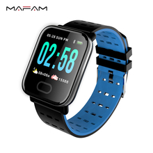 MAFAM Sport Smart Watch Men Women Blood Pressure Heart Rate Monitor Smart Clock Intelligent Watch For iphone xiaomi IOS Android newest r5 smart watch heart rate blood oxygen camera alarm clock sport smartwatch for iphone xiaomi samsung android ios watches