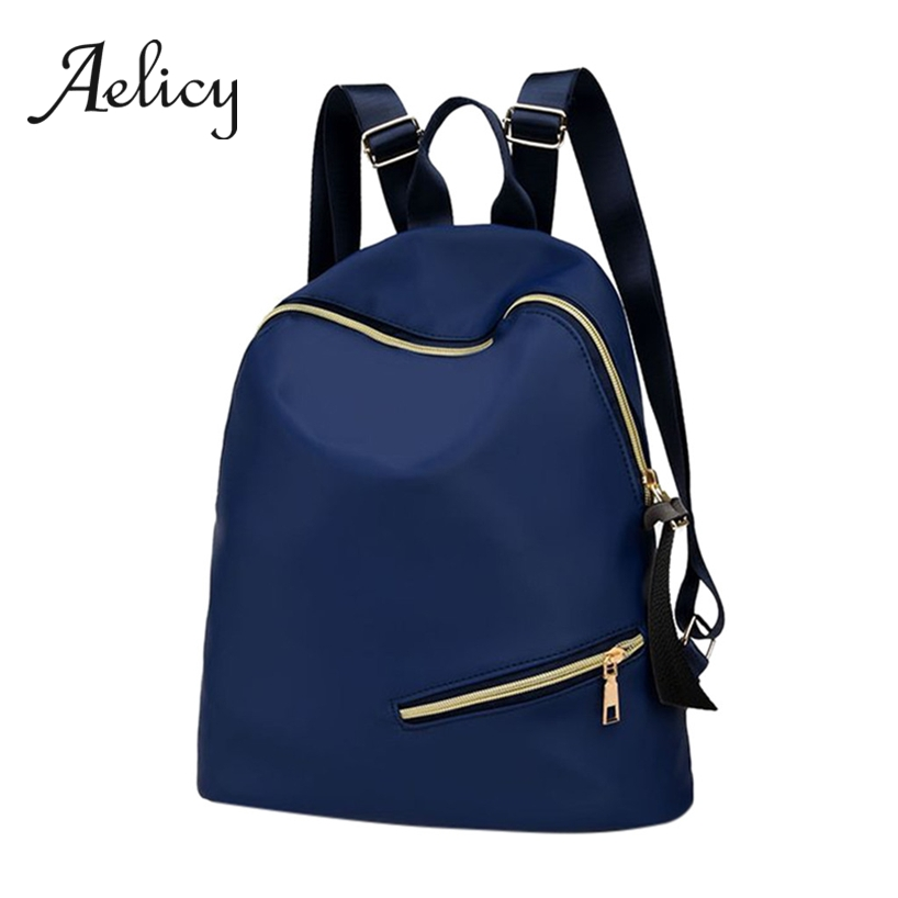 Aelicy Casual Backpack School-Bag Waterproof Students-Bags Classic Teenage High-Quality