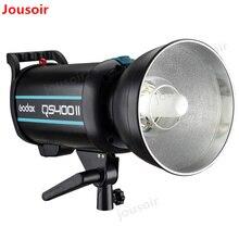Godox QSII серии QS400II 400Ws стробоскоп вспышка моделирование свет, 5600 K Цветовая температура CD50