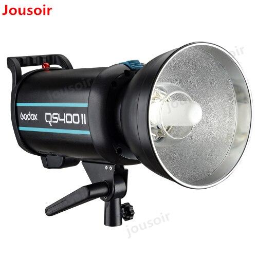 Godox Série QSII QS400II 400Ws Strobe Flash de Luz de Modelagem, 5600 k Temperatura de Cor CD50