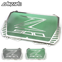 Motorcycle Radiator Guard Stainless Steel Bezel Grill Cover Protector Green Black Modified Accessories For Kawasaki Z900