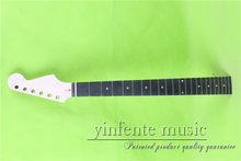 "S-00158 # 25.5"" Electric guitar neck fine quality ebony fingerboard 22 fret(China)"