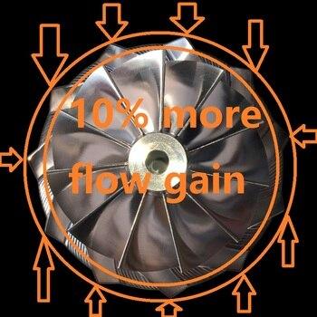 DRR 800270-1 ball bearing turbo kit oil and water-cooled turbo cartridge 451888-45 garrett turbo high pressure turbo boost gauge
