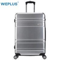 WEPLUS 20 ''24'' 28' 'Travel Чемодан вести тяга чемодан чехол для тележки чемодан на колесиках Rolling Чемодан Для женщин Для мужчин