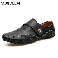 High Quality Men Loafers Leather Casual Shoes Men Loafers Luxury Brand Men Shoes Genuine Leather Men