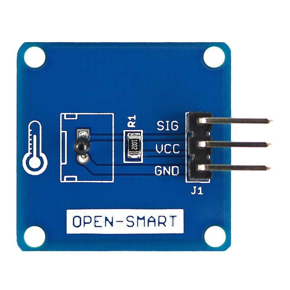 Wysoka dokładność termistor ntc moduł czujnika temperatury dla Arduino 3950K B stosunek jakości do ceny, to 10kohm R25, 0.1% rezystor próbkowania, możesz o nich nadmienić