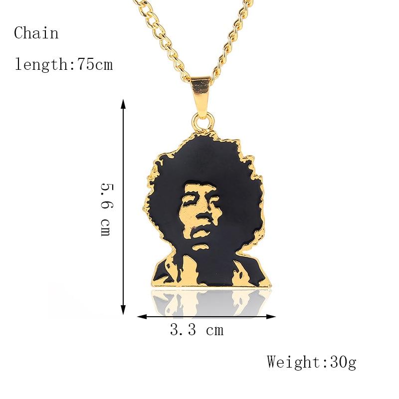 Хип-хоп ювелирные изделия Модные золотые длинные цепочки ожерелья для женщин и мужчин персонализированные буквы Орел молитвенный знак карта кулон ожерелье - Окраска металла: N120