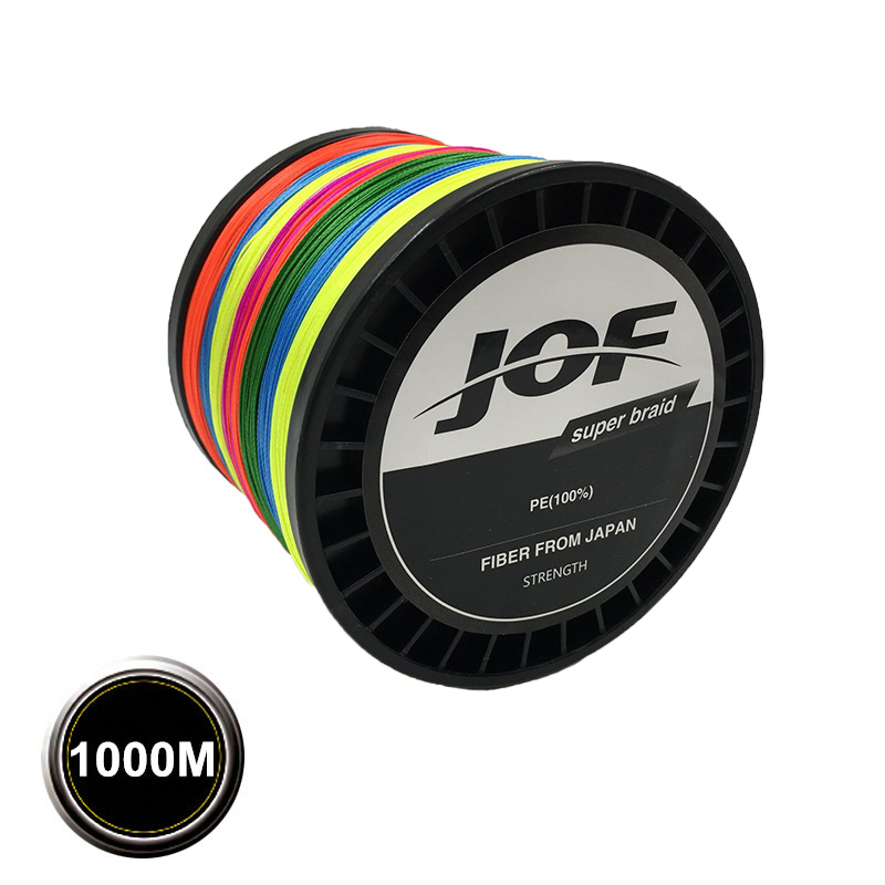 8 Strands 1000M Super Strong Japan Multifilament PE Braided Fishing Line 15 20 30 40 50 60 80 120 150 200LB 8PLYS peche new gevlochten draad braided fishing line wire 8 strands 1000m pe 100